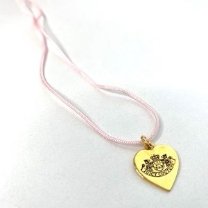 Juicy Couture Silk Rope Necklace